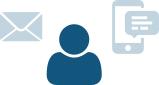 Communication tools icon