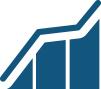 Website performance data icon