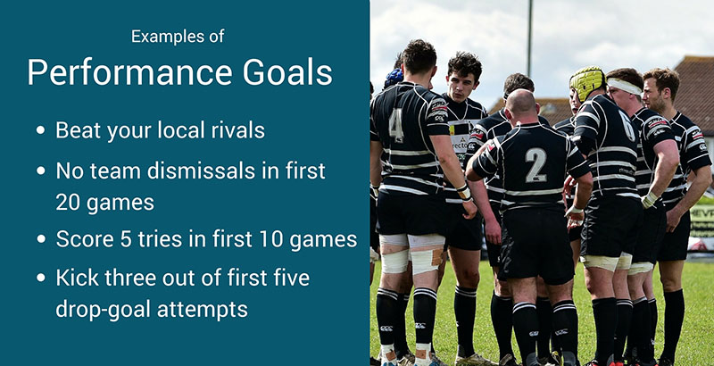 examples of performance goals