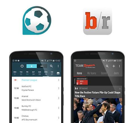 Team Stream, Forza Football app screenshots